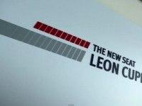 Seat Leon Cupra на треке