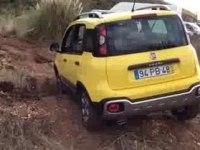Офф-роуд видео Fiat Panda Cross