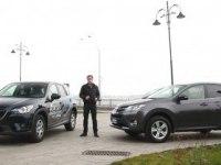 Сравнительный тест дизельных Toyota RAV4 и Mazda CX-5