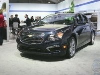 Экстерьер и интерьер Chevrolet Cruze