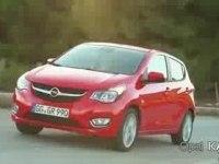 Промо-видео Opel KARL