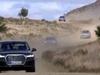 Оффроуд видео Audi Q7