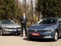Тест-драйв VW Passat B8 2015