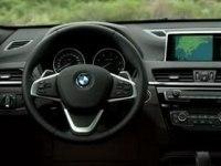 Интерьер BMW X1
