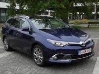 Экстерьер и интерьер Toyota Auris Touring Sports