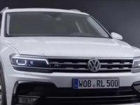 Экстерьер и итерьер Volkswagen Tiguan R-Line