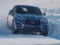 Испытания Jaguar F-PACE в экстремальных погодных условиях