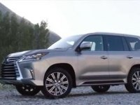 Экстерьер и интерьер Lexus LX