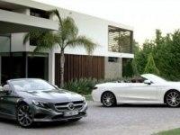 Промовидео Mercedes-Benz S-Class Cabriolet (A217)