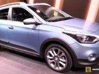 Hyundai i20 Active на выставке