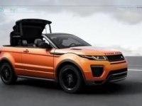 Конструкция механизма складывания крыши Range Rover Evoque Convertible