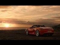 Реклама Porsche 718 Boxster
