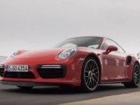 Porsche 911 Turbo S на треке