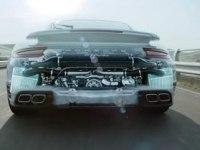Двигатель Porsche 911 Turbo