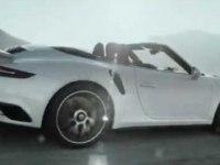 Проморолик Porsche 911 Turbo Cabriolet