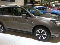 Subaru Forester на выставке