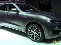 Maserati Levante на выставке