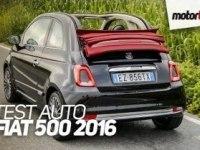 Тест Fiat 500C