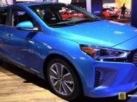 Hyundai Ioniq Hybrid на выставке