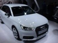 Audi A1 Sportback на выставке.