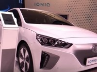 Hyundai IONIQ electric на выставке