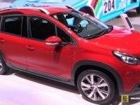 Peugeot 2008 на выставке.