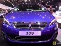 Peugeot 308 GT на выставке