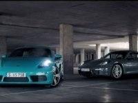 Проморолик Porsche 718 Cayman