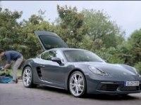 Сколько багажа вмещаеться в Porsche 718 Cayman