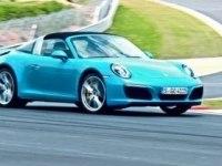 Porsche 911 Targa 4S на треке