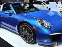 Porsche 911 Targa на выставке