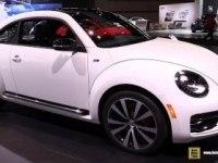 Volkswagen Beetle на выставке