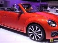Volkswagen Beetle Convertible на выставке