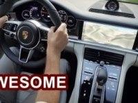 Салон Porsche Panamera Turbo и Panamera 4S
