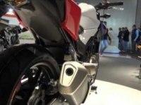 Honda CB500F на выставке