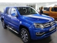 Volkswagen Amarok DoubleCab на выставке