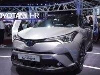 Toyota C-HR Hybrid в Женеве