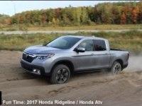 Тест Honda Ridgeline