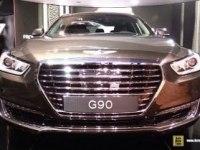 Hyundai Genesis G90 на выставке