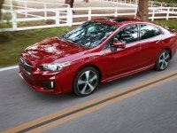 Subaru Impreza в движении