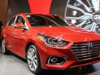 Hyundai Accent на выставке