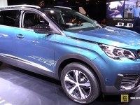 Peugeot 5008 на выставке