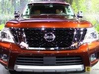 Nissan Armada на выставке