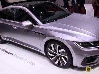 Volkswagen Arteon на выставке