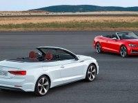 Audi A5 Cabriolet в статике и движении