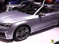 Audi S5 Cabriolet на выставке