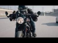 Проморолик Ducati Scrambler Cafe Racer