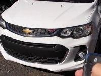 Видео с тест-драйвом Chevrolet Sonic RS
