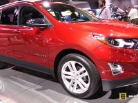 Chevrolet Equinox на выставке
