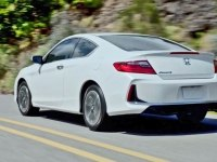 Honda Accord Coupe в статике и движении